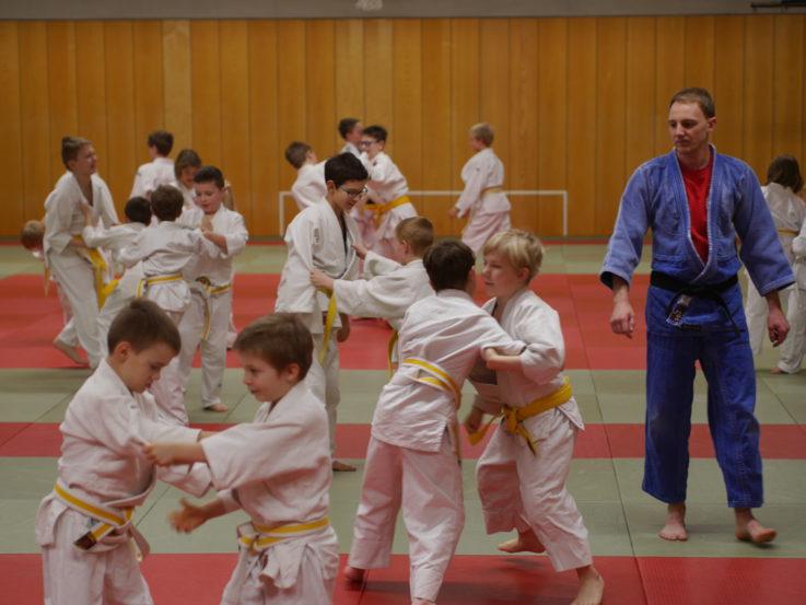 """""""Zwergerlaufstand"""" bei der Judoabteilung der TG Landshut"""