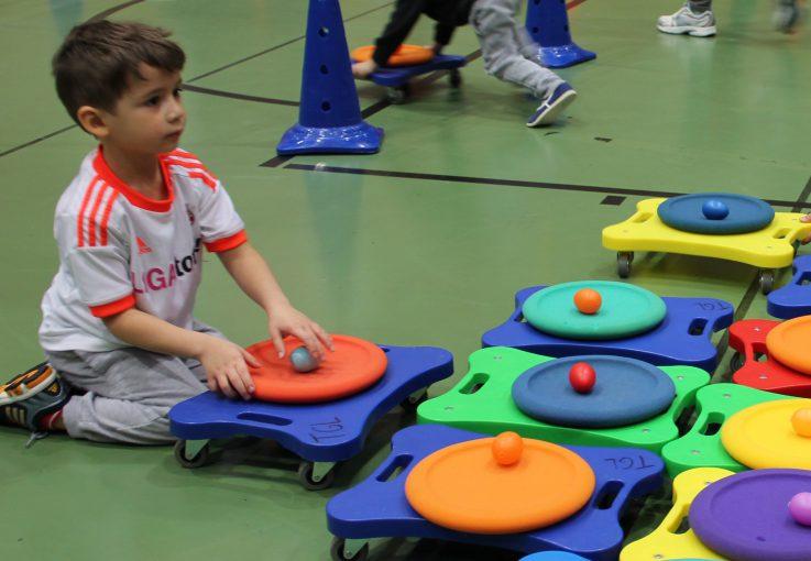 TGL-Osterrallye der Kindersportschule