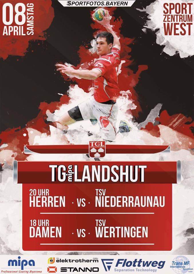 Handball – Heimspieltag am 8. April