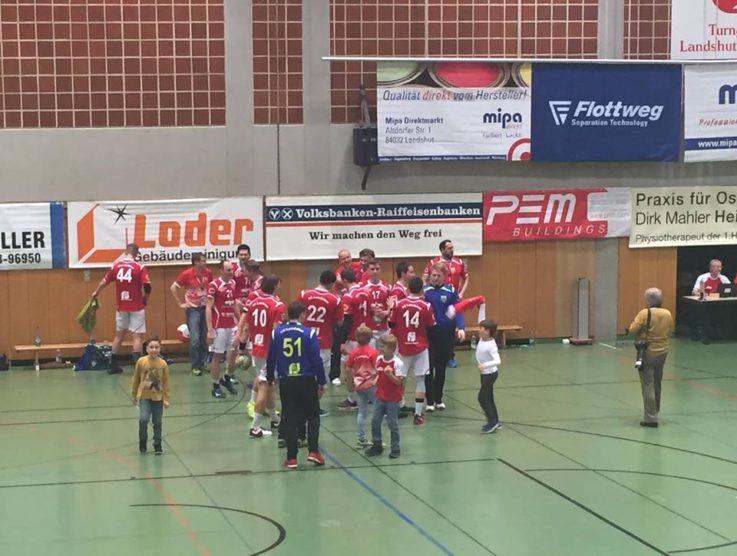 """Handball Herren1: Die Aktion """"Jugend forscht"""" der TG Mipa wird zu einem durchschlagenden Erfolg"""