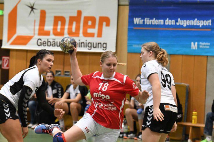 Handball Damen: Vorentscheidendes Derby in Ingolstadt: