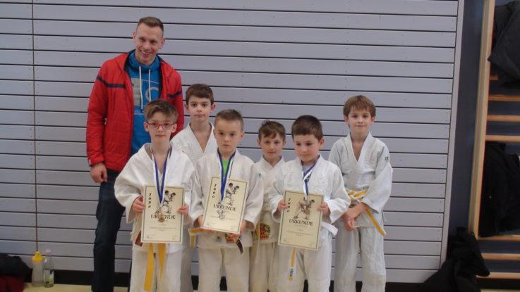 Lucas Rieß wird Niederbayerischer Judomeister der U 10