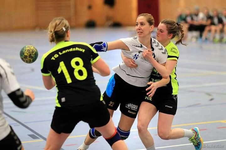 Handball Damen 1:  TGL- Damen stehen vor einer schwierigen Aufgabe.