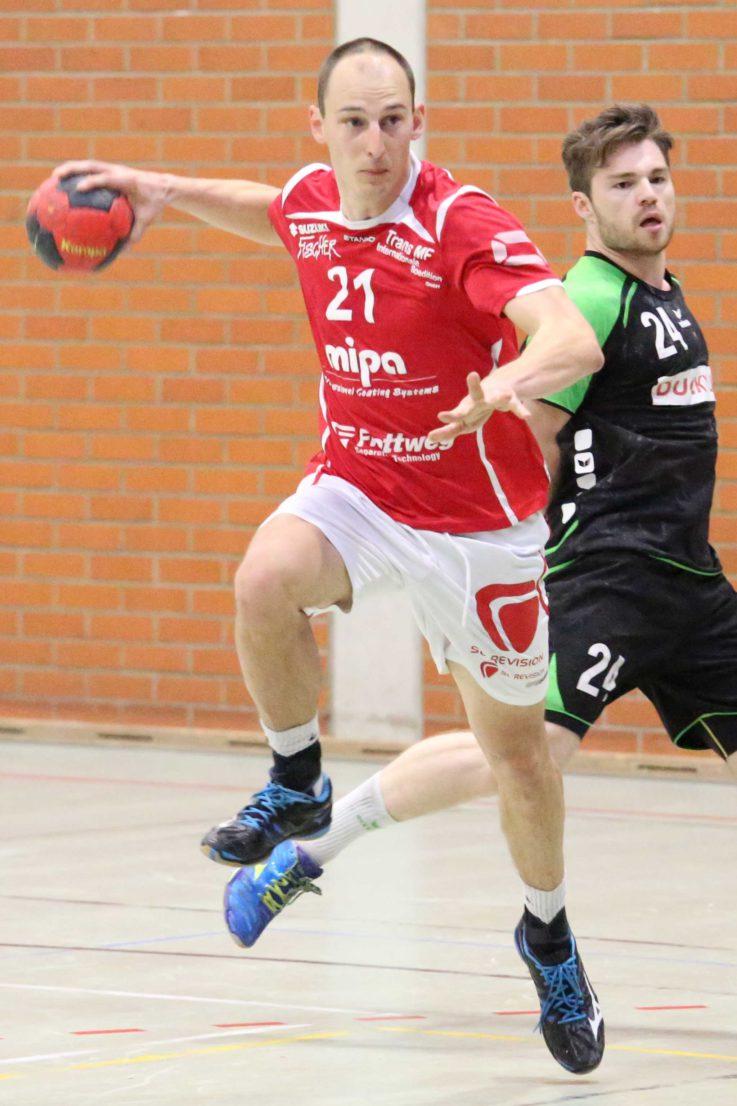 Handball Herren 1: Landshuter Handball-Bayernligist gewinnt Südbayern-Derby beim TSV Unterhaching mit 34:30 (18:14)