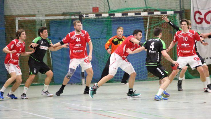 Handball Herren 1: TG Mipa will auf ihre Super-Saison mit einem Heimsieg das Sahnehäubchen setzen
