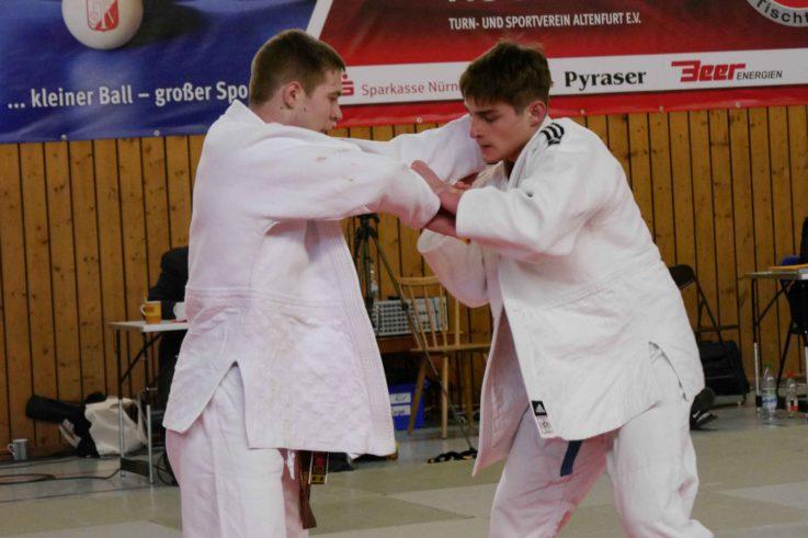 Tauras Kuskys von der TG Landshut wird Bayerischer Vizemeister im Judo