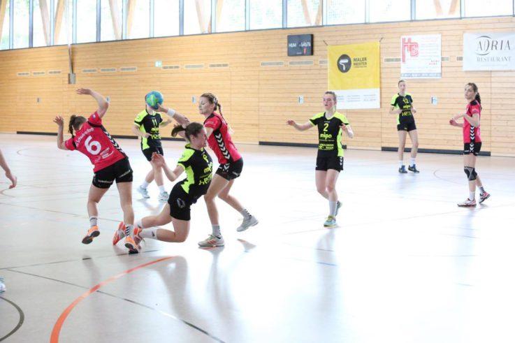 Handball Damen 1: TG-Handballdamen halten sich fürs Rückspiel alle Optionen offen