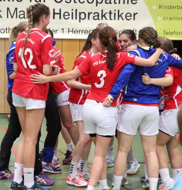Handball Damen 1: TG-Handballdamen machen Vizetitel perfekt und klopfen jetzt ans Tor zur Bayernliga