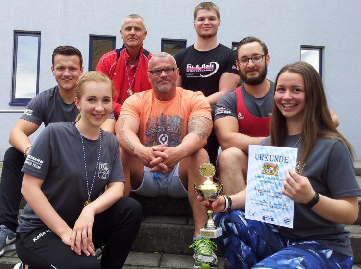 Satte Titelausbeute für TGL-Bankdrücker bei bayerischer Meisterschaft