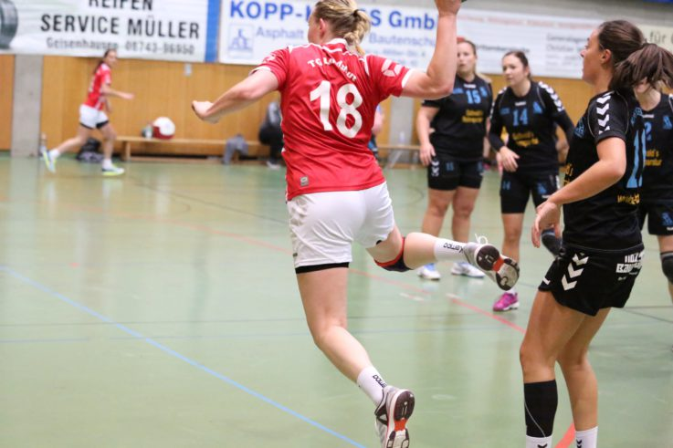 Handball Damen1: TG-Handballdamen verpatzen Premiere in der Landesliga Nord