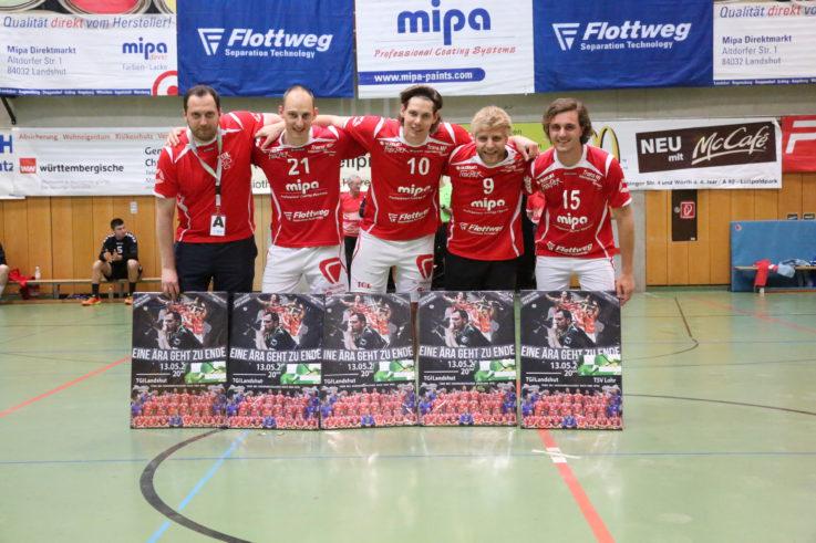 Handball Herren 1: TG Mipa lässt sich von dritter Saison-Heimpleite die Vizemeister-Fete nicht vermiesen