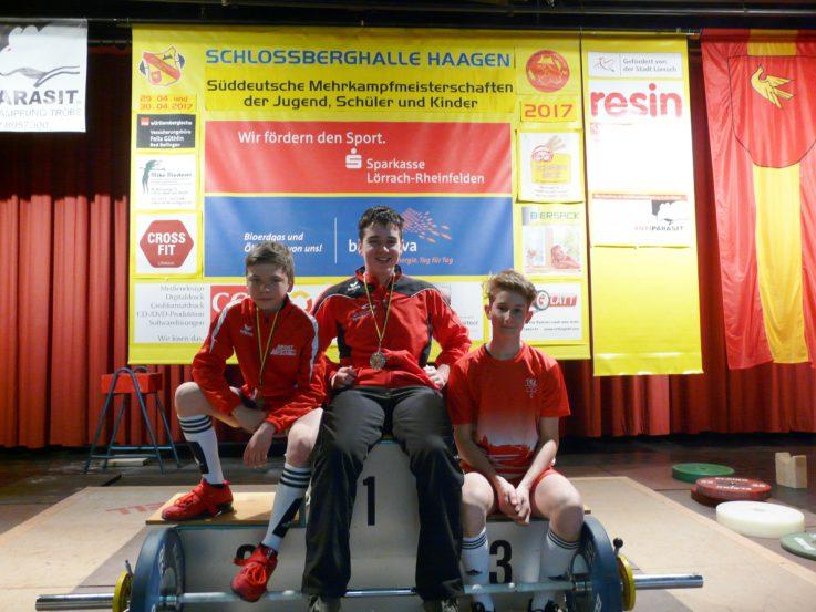 2 Podestplätze für die TG-Jugend in Lörrach
