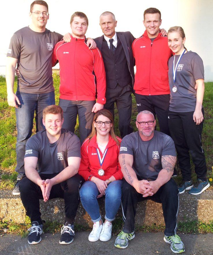 Vier Medaillen bei Bayerischen Meisterschaften für TGL-Kraftdreikämpfer