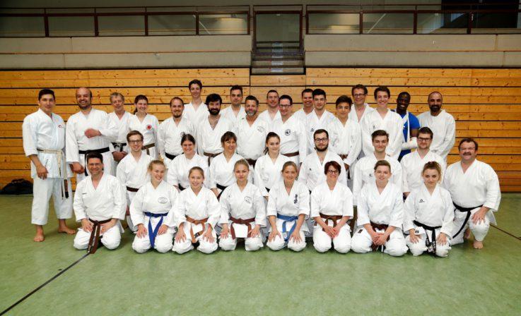Neuer C-Trainer, Fachbereich Karate in der Abteilung