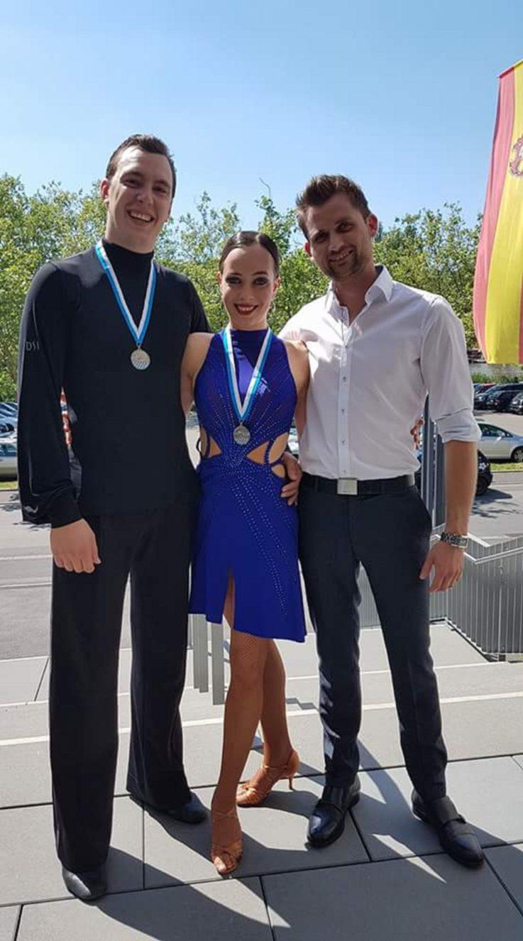 TG Landshut Paar wird  bayerischer Vizemeister im Sporttanz Latein