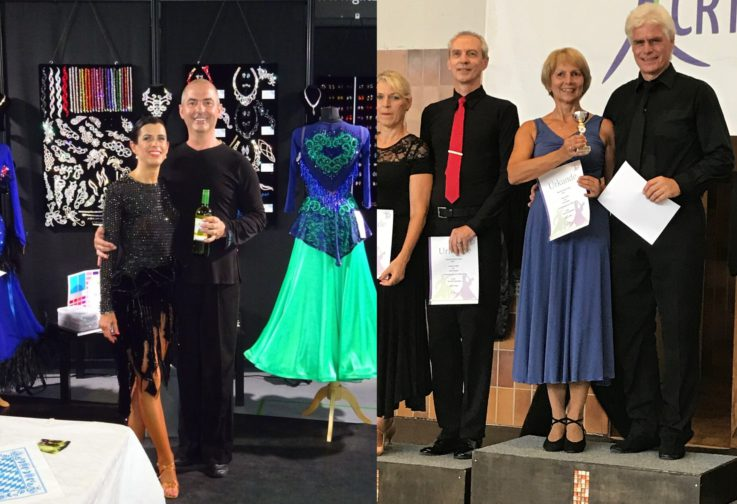 große Erfolge und Aufstieg bei den Bavarian Dance Days in Rosenheim für unsere Turnierpaare