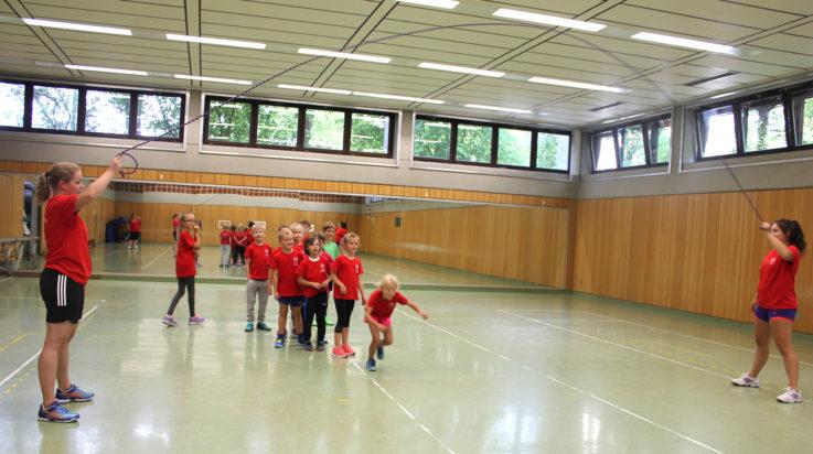 TGL-Ferienkinder im Sportcamp-Fieber