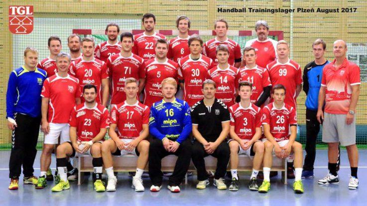 Handball Herren1: Trainingslager in Pilsen