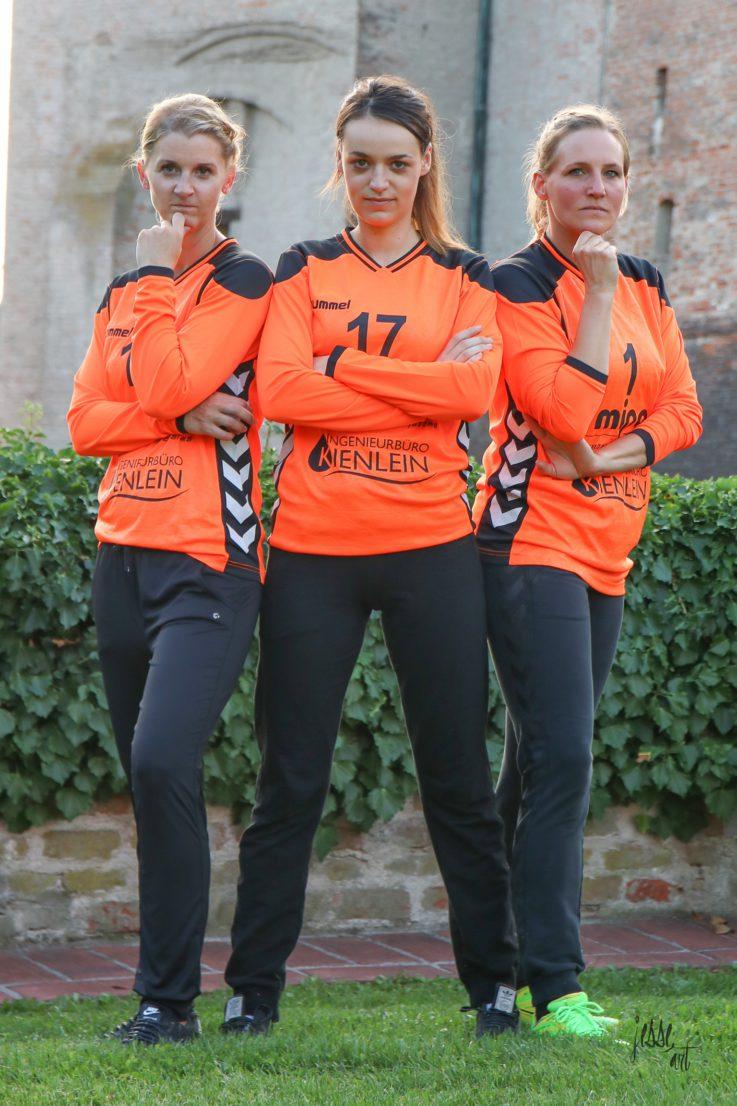 Handball Damen1:TG-Handballdamen setzen auf ihre Heimstärke