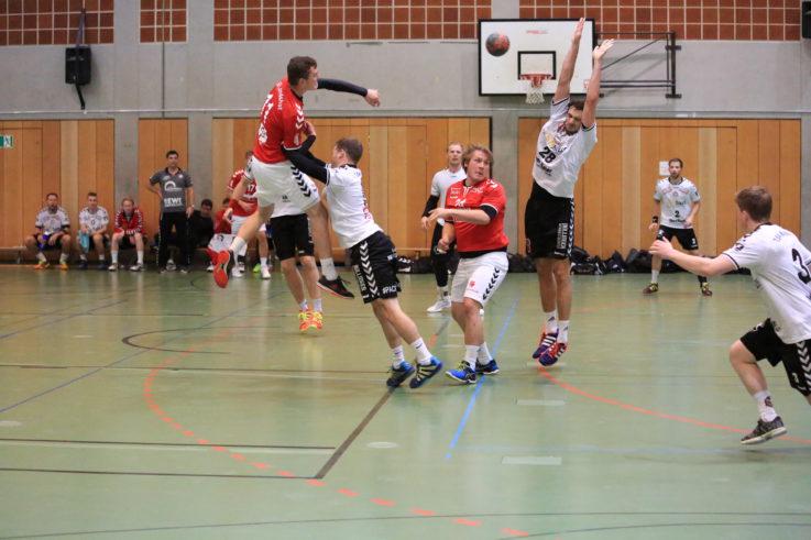 Handball Herren1: Ein Süd-Derby als Kellerduell