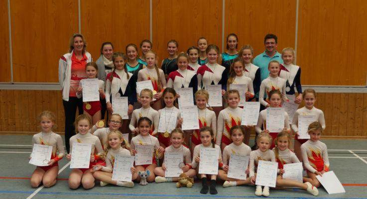 Gau-Mannschaftsmeisterschaft Mädchen am 22. Oktober 2017 in Vilsbiburg