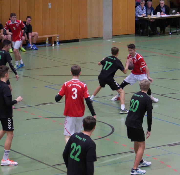Handball mB: B-Jungs bleiben weiter erfolgreich