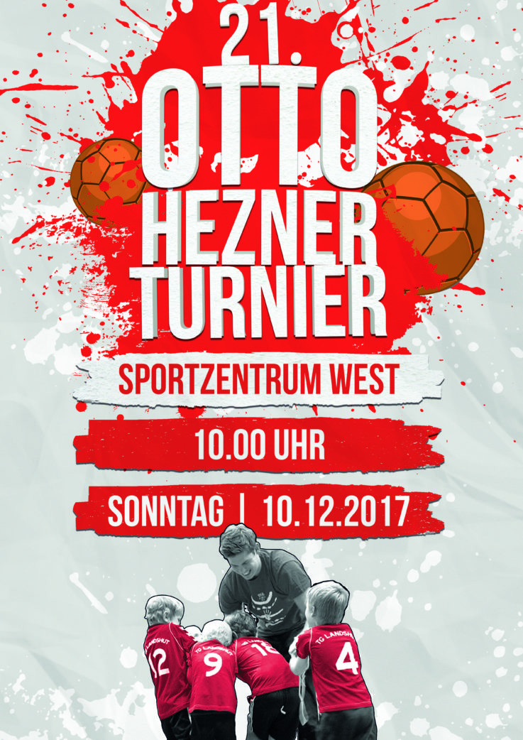 Handball: 21. Otto-Hezner Turnier – Am Sonntag ist es soweit !