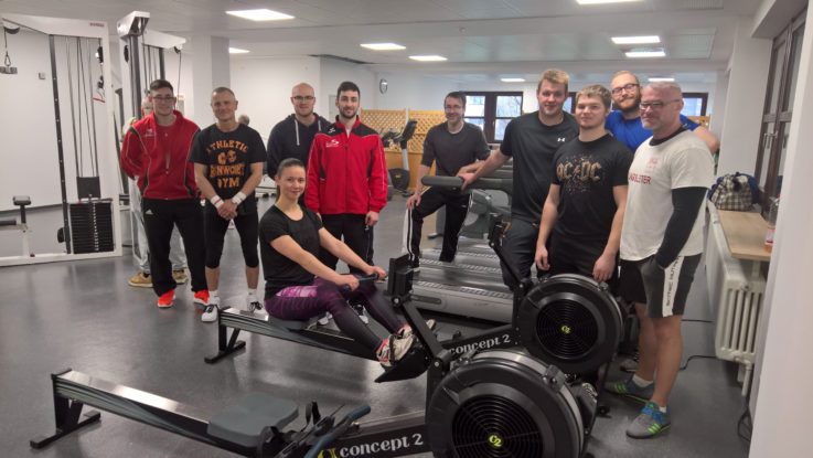 TGL nimmt neuen Fitnessraum in Betrieb