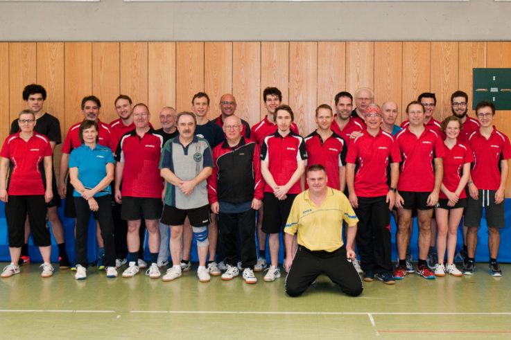 Tischtennis: Vereinsmeisterschaft am 06.01.2018