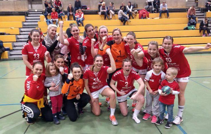Handball Damen1: TG-Handballdamen ballern sich zurück ins Tabellen-Oberhaus