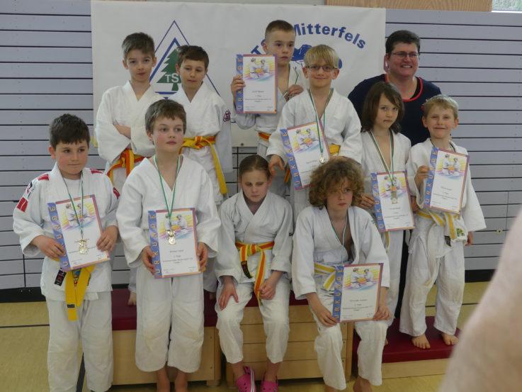 Drei Niederbayerische Meistertitel im Judo gehen an die TG Landshut