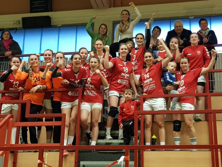 Handball Damen1: TG-Handballdamen zurück in den Top Five