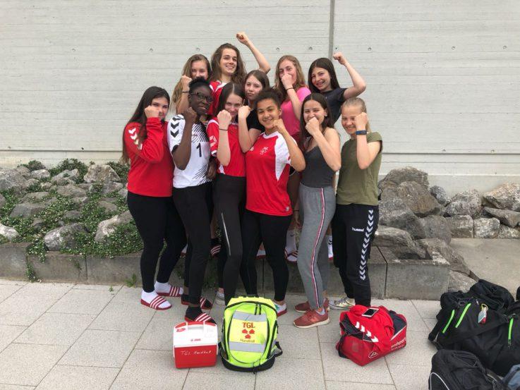 Handball wB:Die weibliche B-Jugend rockt wieder in der Landesliga