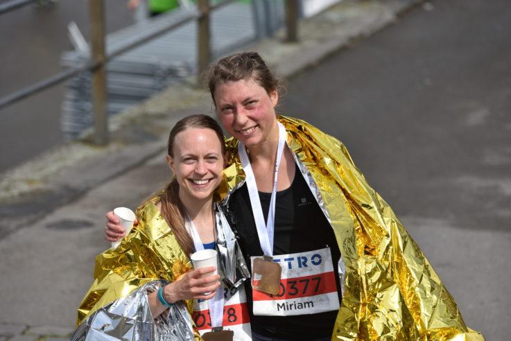 Elisabeth Jensen wird sensationell Deutsche Meisterin mit der Marathonmannschaft