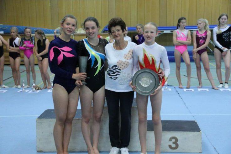 Vereinsmeisterschaft der  Leistungsklassen Mädchen und Buben am 22. Juni 2018