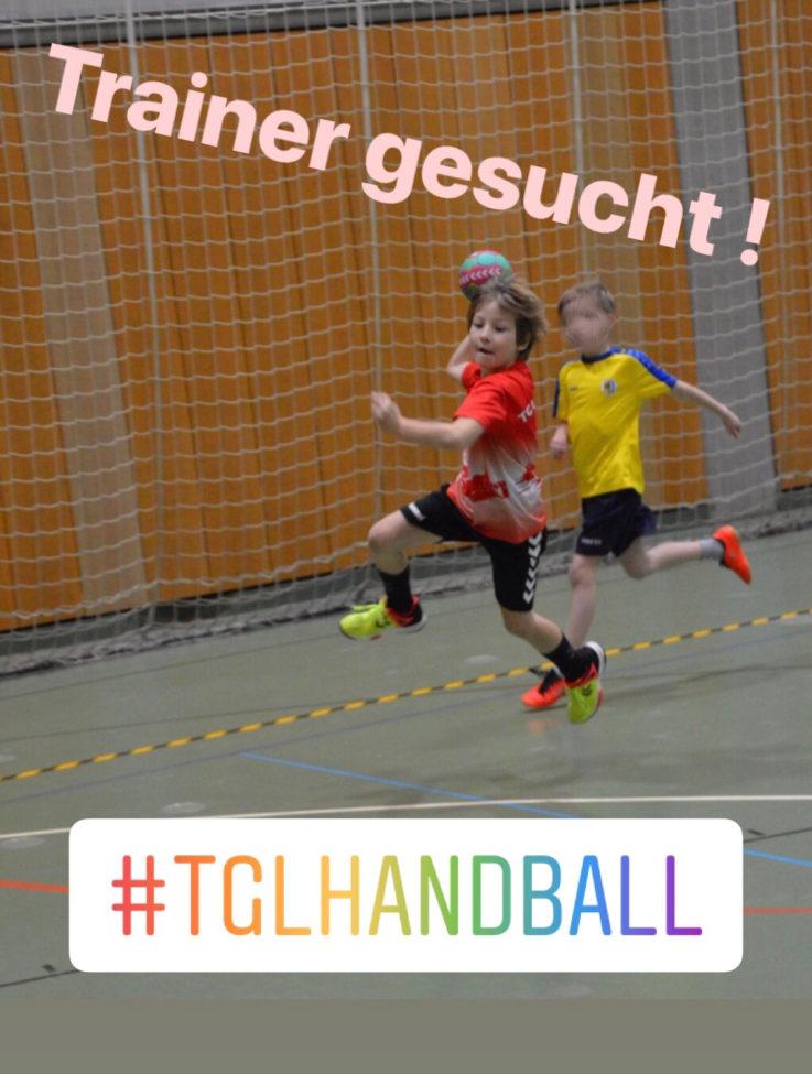 Handball Minis: Trainer gesucht