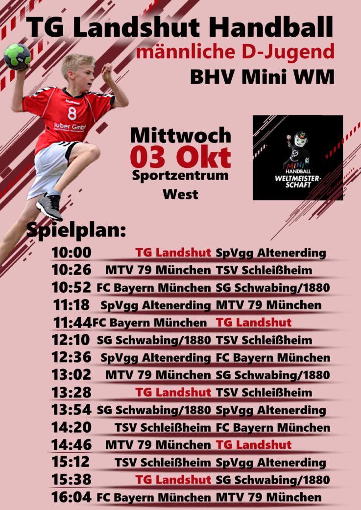 Handball: Mini WM in Landshut