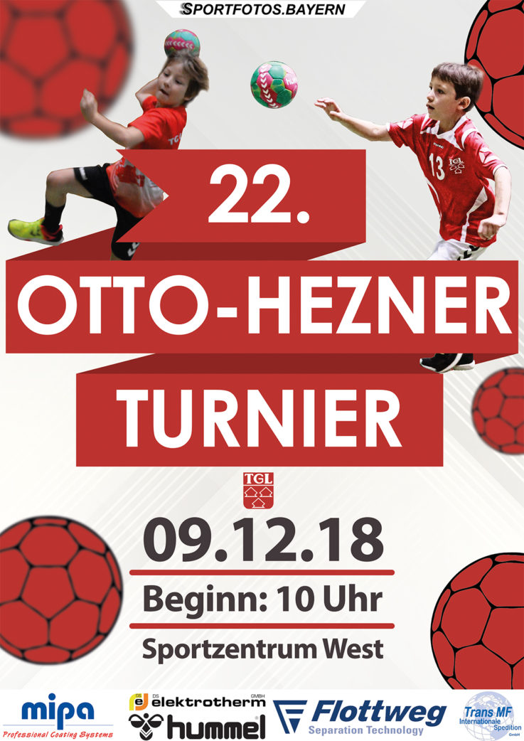 Handball: 22. Otto-Hezner Kinderhandball Turnier