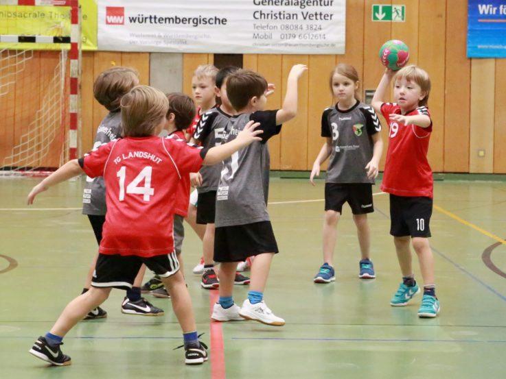 Handball: 22. Otto Hezner Kinderhandball-Turnier wieder voller Erfolg.