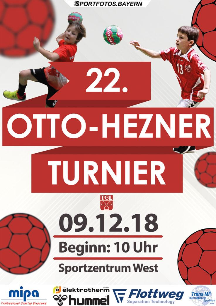 Handball: 22. Otto-Hezner Turnier – Am Sonntag ist es soweit !