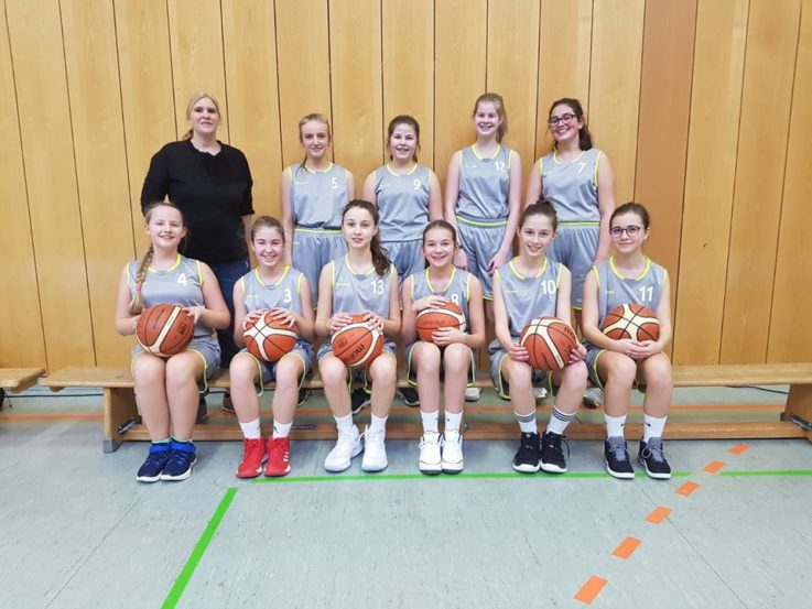Basketball U14w: U14w startet durch
