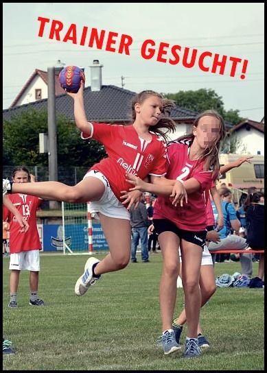 Handball: Trainer gesucht!