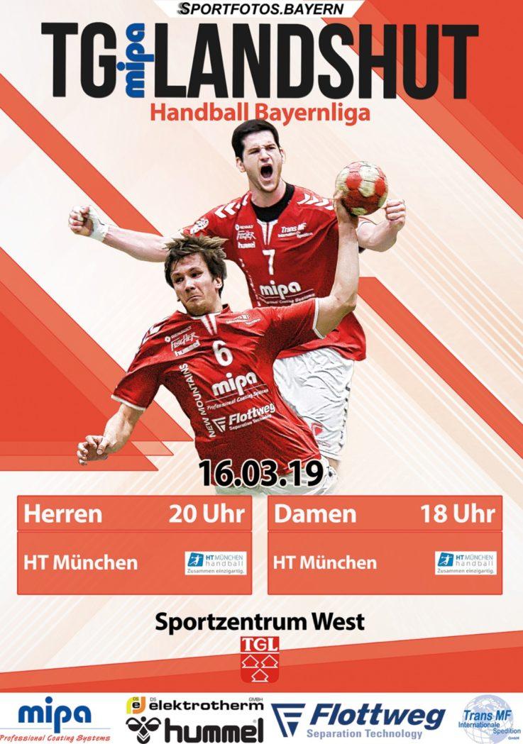 Handball: HEIMSPIELTAG am 16.3