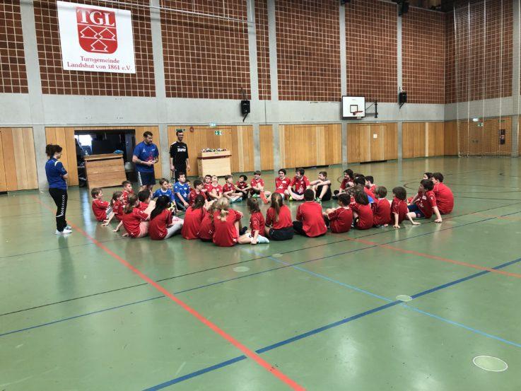Handball: TGL-Handballcamp – Handballschule Chrischa Hannawald gestartet.