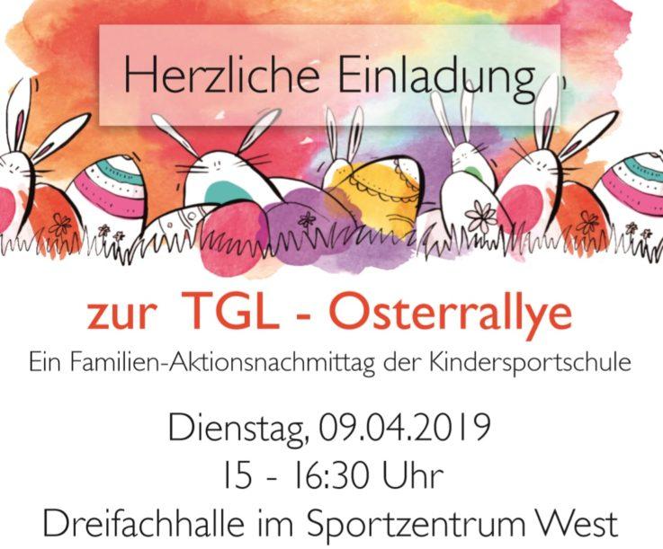 Tolle Resonanz: 150 Kinder und Eltern bei TGL-Osterrallye