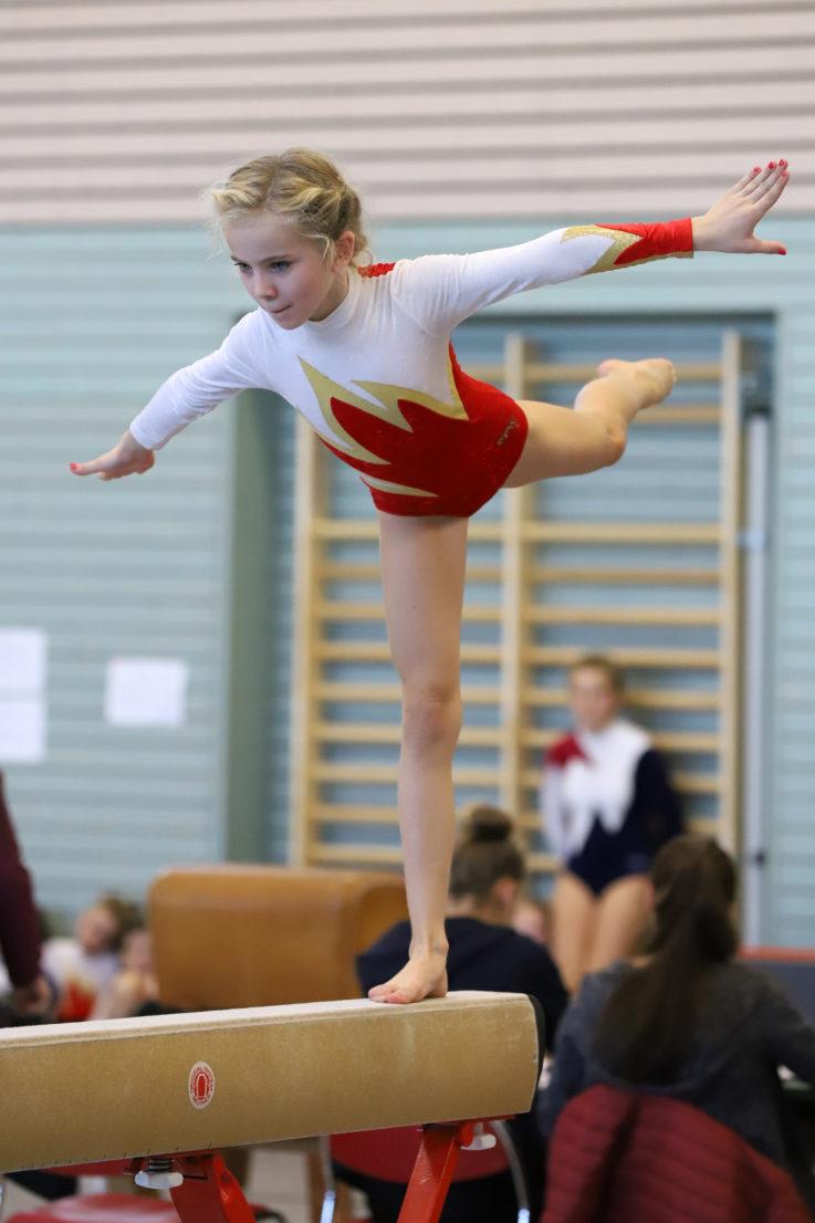 Gau-Einzelmeisterschaft Gerätturnen Mädchen am 6. April 2019 in Landshut