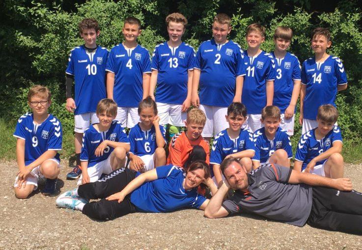 Handball mD: mD spielt Bezirksliga