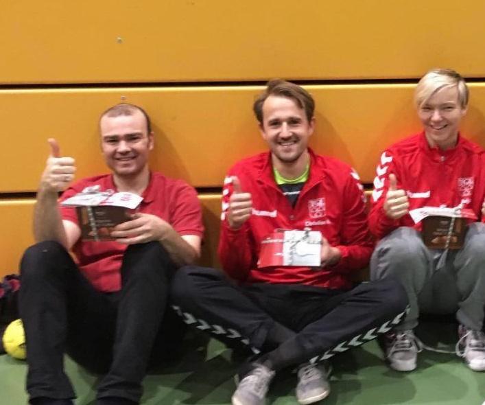 Handball: Danke ANJA, ULLA, CHRISTIAN und NIKI