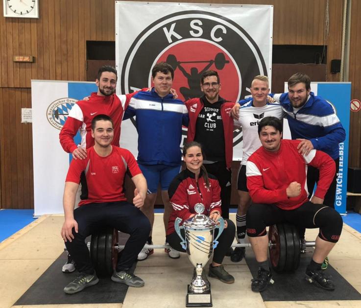 Niederbayerische Gewichtheber gewinnen überraschend den Bayerncup der Bezirksmannschaften
