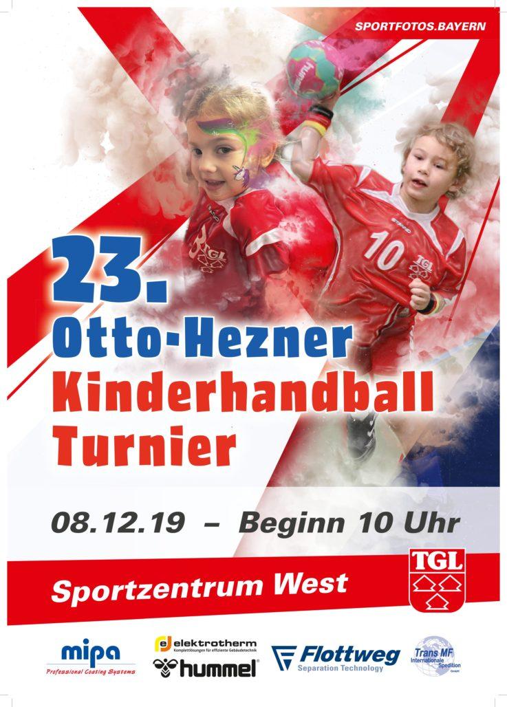 Handball: Otto-Hezner Turnier am 8.Dezember